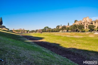 Nowadays it's a dusty piece of land, popular with dog walkers and the preferred venue for public festivals in Rome.