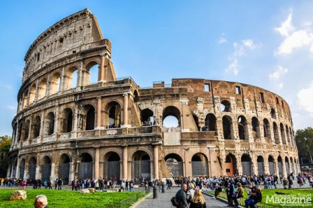This is not just an arena, or amphitheatre, this is the symbol of Rome itself. So much that it's depicted on the Italian version of the five-cent Euro coin!