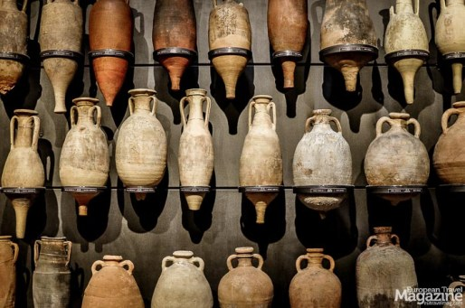"""The museum is located inside the Foro di Traiano or """"Trajan's market"""" as it was called, because scholars for many years believed it to be an ancient shopping mall."""