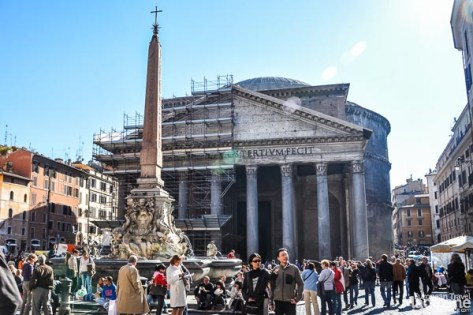 The Pantheon is so unrivalled in its engineerical achievement, that's even Brunelleschi modelled the dome of Florence's cathedral after Pantheon. 1300 years after.