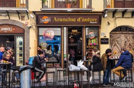 On Via Maqueda you'll find a lot of Street Food eateries and cafés