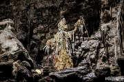 """The first cave is used as setting for the theatrical show """"Hell in the Cave"""" based on Dante's """"Inferno"""""""