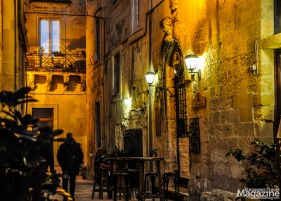 The streets are full of cosy bars where you can enjoy a glass of wine or a beer