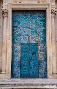 The doors of Chiesa di Santa Irene are often open