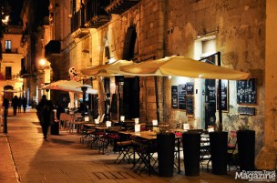 Especially Via Umberto I is lively and charming in the evening