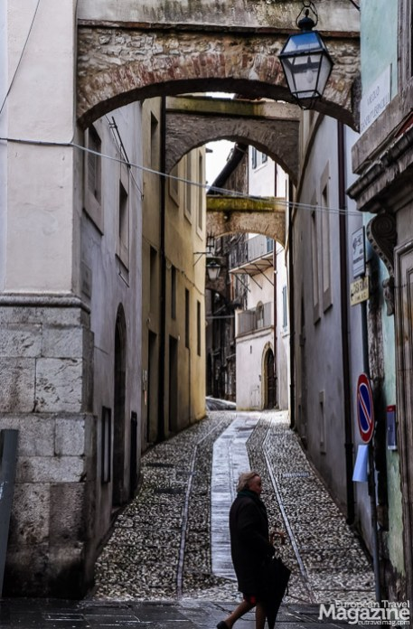 The Medieval ambiance is tangible in the historic centre of Spoleto