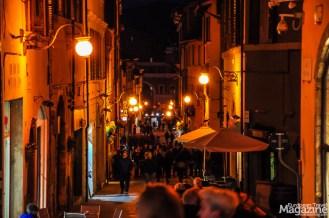 Corso Giuseppe Garibaldi is also very popular during the evening passeggiata