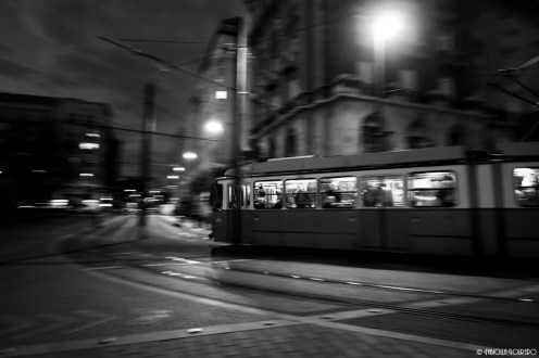 The famous Budapest tram