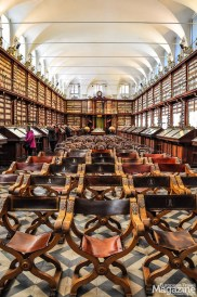 If you can visit only one library while in Rome, this monumental book room should be on the list