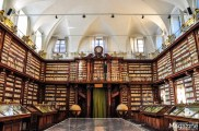 Cardinal Casanate bequeathed his 25.000 volumes of books to the Dominicans of the Convent of Santa Maria sopra Minerva, provided that the library would be open to the public