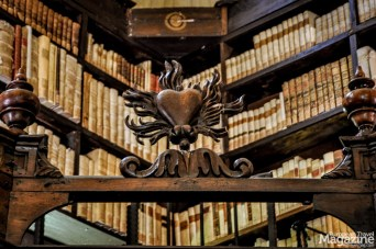 Its heritage contains more than 130.000 volumes of manuscripts, pamphlets and books