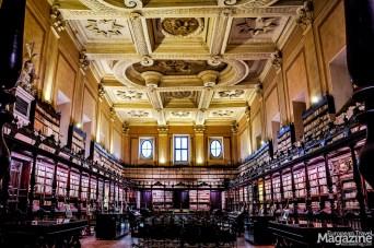 Biblioteca Vallicelliana is located in the wonderful Casa dei Filippini, designed by Baroque architect Borromini in the mid-17th Century