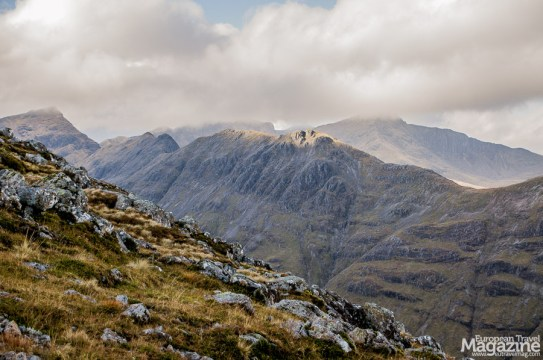 In fair weather, you can see all the way to Ben Nevis, making this a magnificent hike