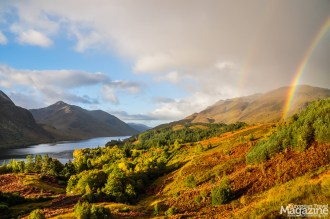 The hike offers stunning views to the 4th longest loch in Scotland, Loch Shiel and its picturesque surroundings