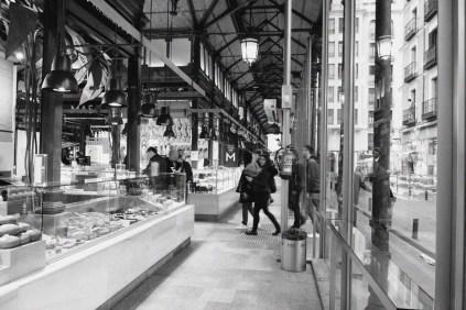 variety of stalls