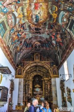 Igreja de São Vicente with its beautiful Baroque ceiling
