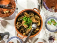 "Another local dish being served is Galo no Pote, that translates into ""Chicken in a Pot"""