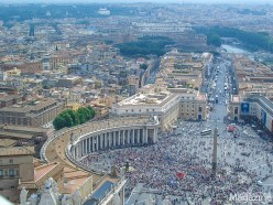 St Peter's Square, created by Gian Lorenzo Bernini, is a prime example of Baroque art and architecture