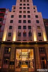 This Design hotel just south of Santa Catalina square exudes Art Deco elegance