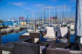 It overlooks the marina and Alcaravaneras beach and is a great spot to hit on your way home from this nice city beach
