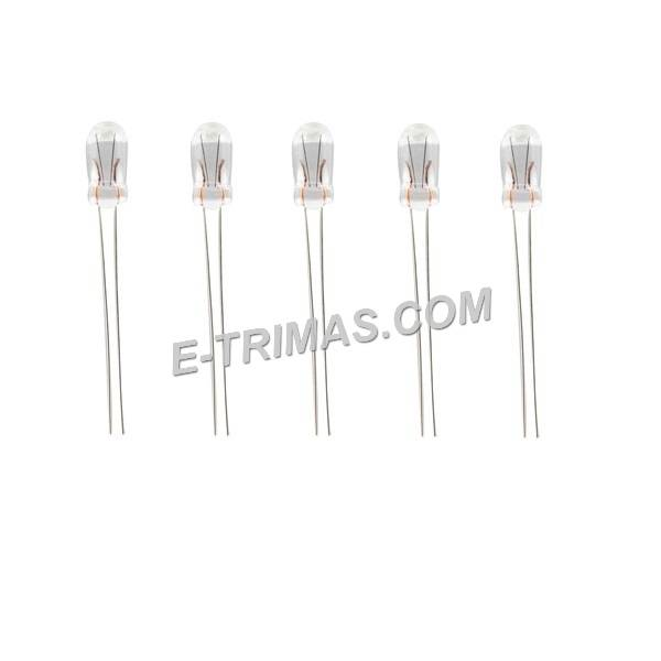 Dashboard Meter Panel Bulb 5mm 14V 1.4W (2PCS)