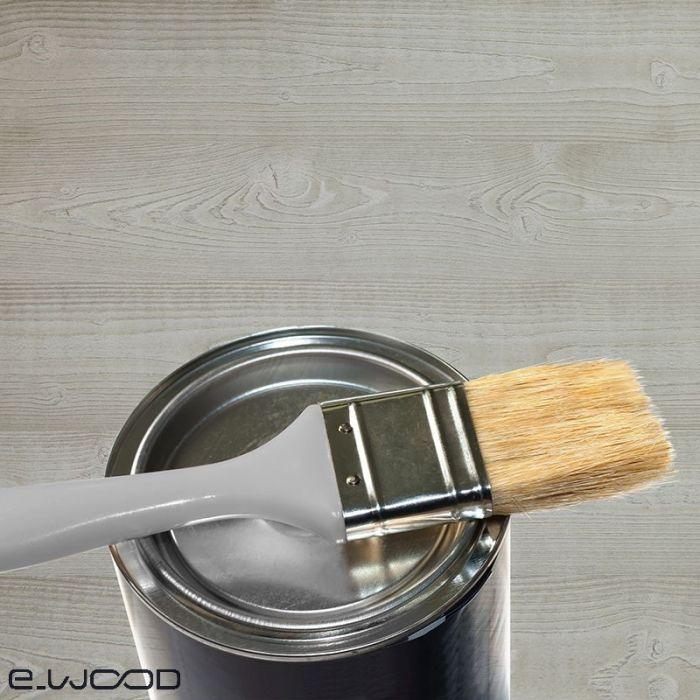 peinture de retouche pour lambris bois gris patine pot 0 25l