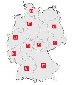 E1 Immobilien Franchise Standorte