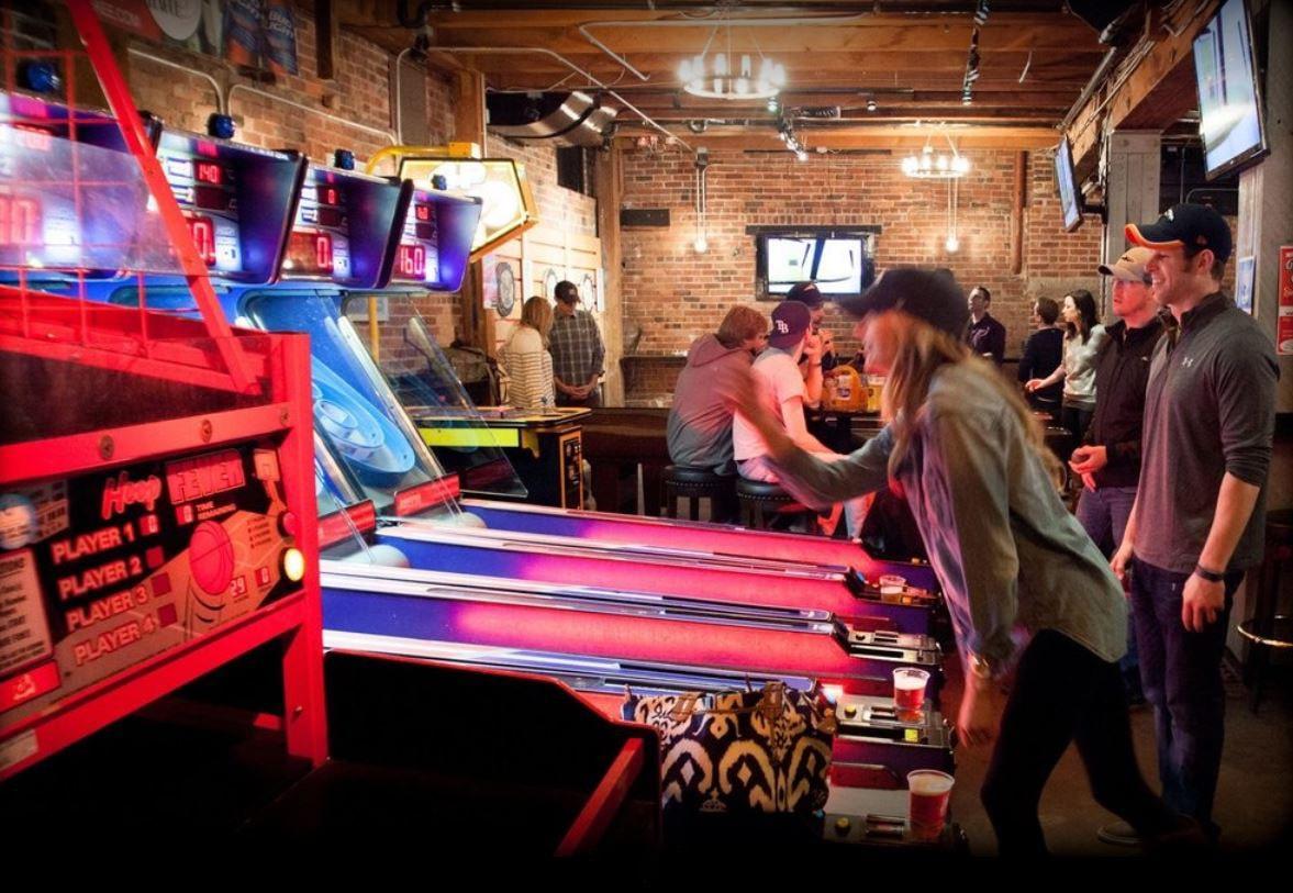 Bar game room