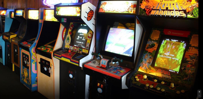 Coin-operated arcade games in Varsity Inn