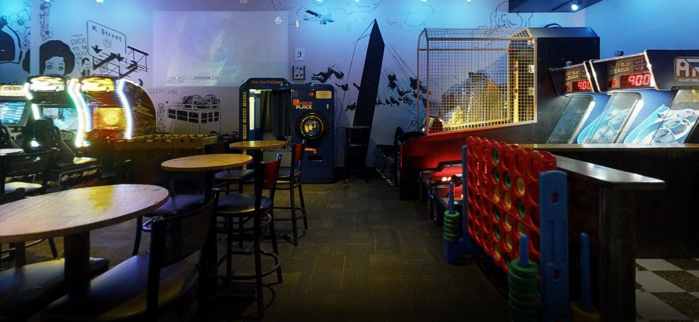 coin operated arcade games for bars & restaurants