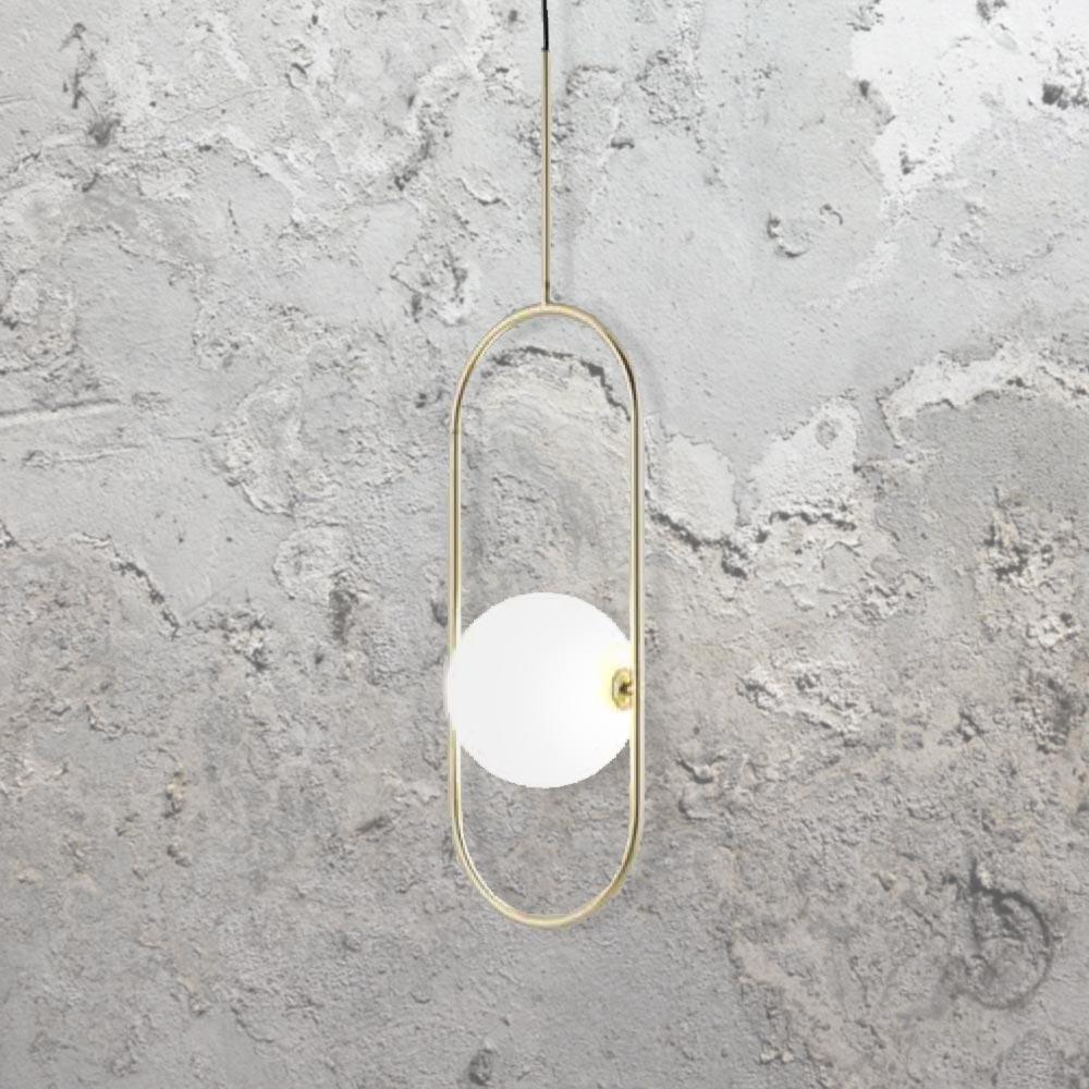 Oval Ring Globe Pendant Light Cl 39464 E2 Contract Lighting Uk