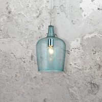 Aqua Glass Pendant Light CL-26292 | E2 Contract Lighting ...