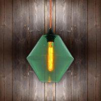 Green Glass Pendant Light | E2 Contract Lighting | Bespoke ...