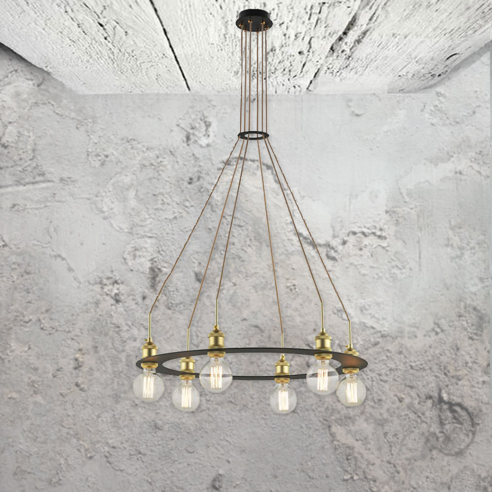Industrial Multi Pendant Light Cl 33543 E2 Contract
