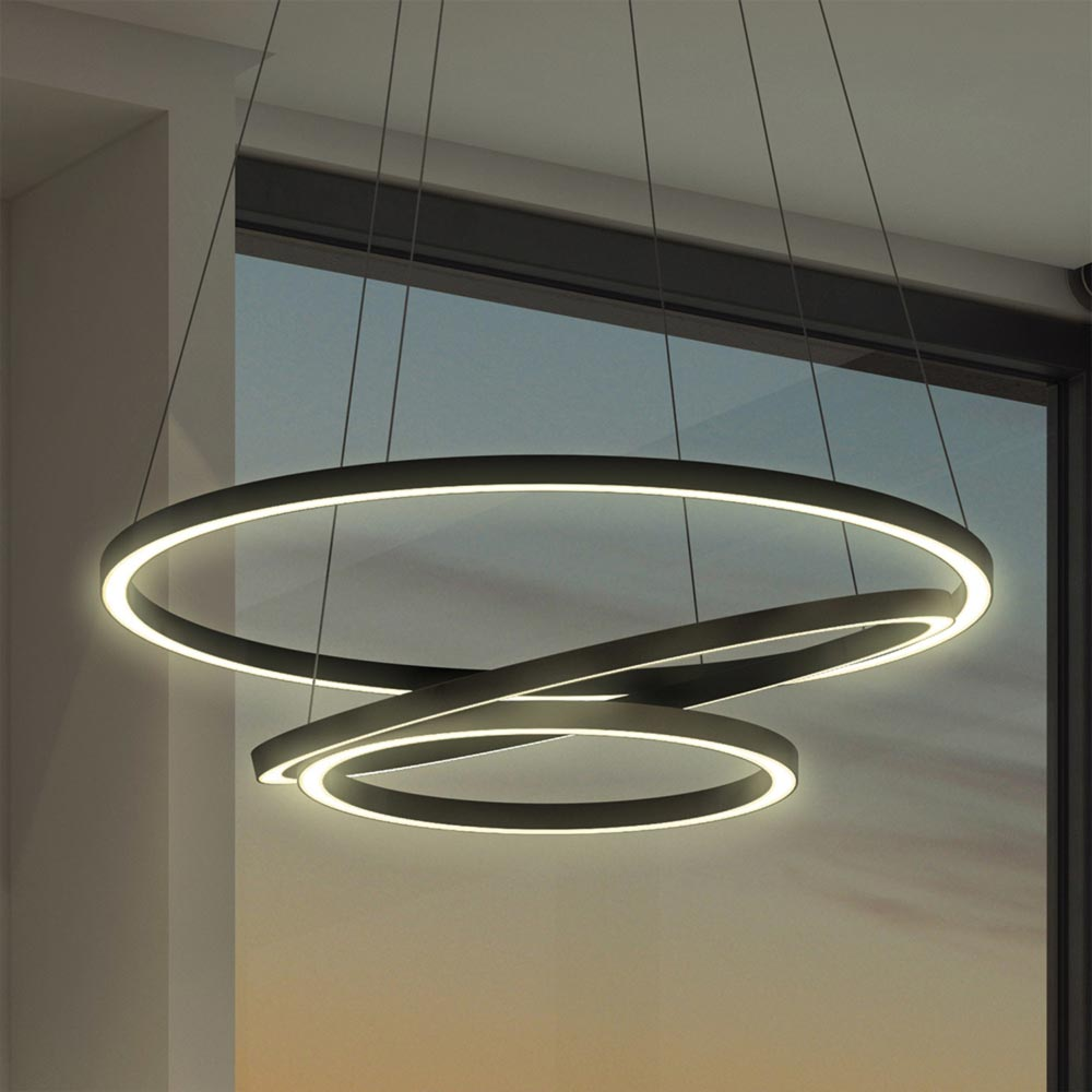 LED Suspended Ring Pendant CLB00572  E2 Contract