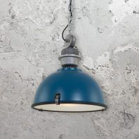 Large Vintage Industrial Pendant Light 35185 | E2 Contract ...