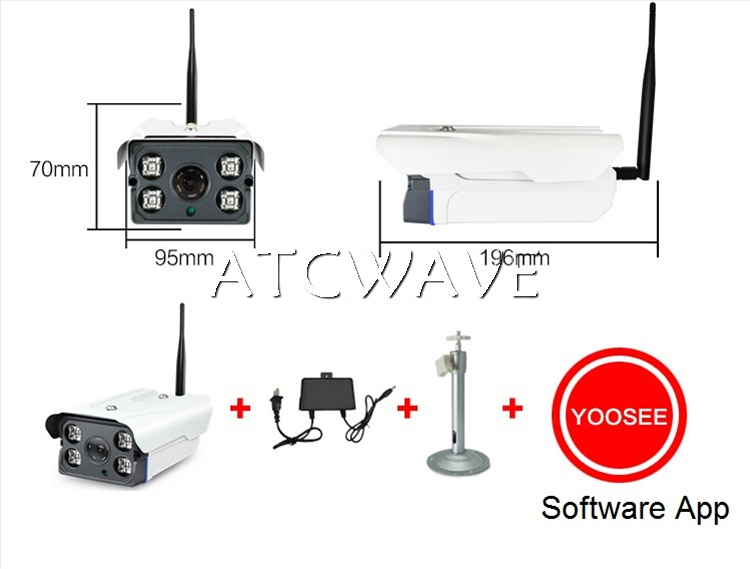 AP Hot Spot Wireless WiFi HD 1080P IP P2P Camera Home