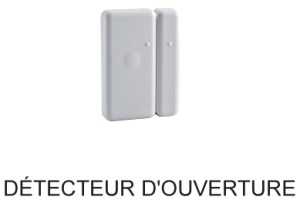 E3C Alarmes : Detecteur d'Ouverture Delta Dore