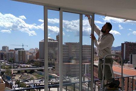 Instalacion de ventana de PVC