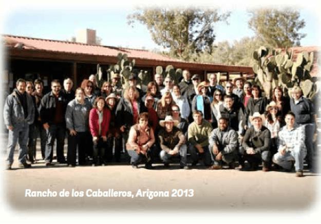 e4 at Rancho de los Caballeros, Arizona 2013
