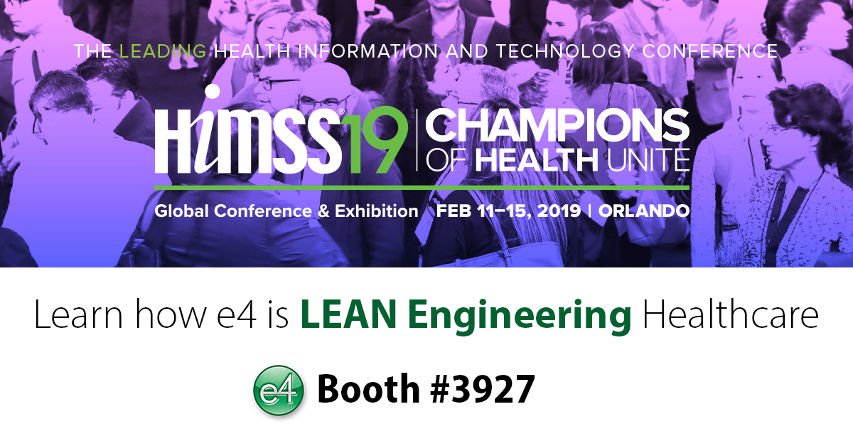 HIMSS 19 Global Conference and Exhibition Champions of Health Unite