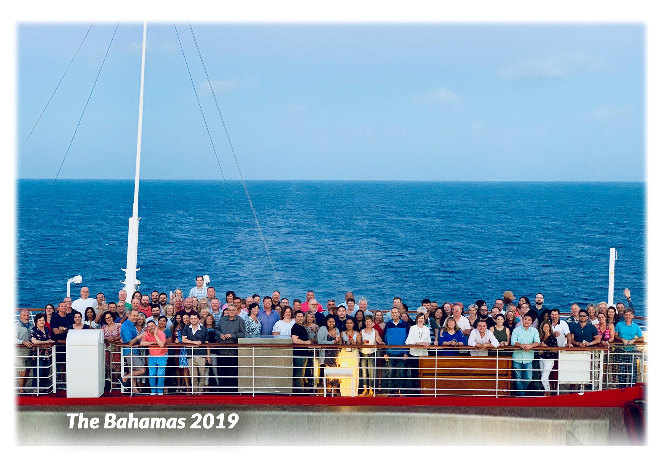 e4 Team - The Bahamas 2019 Website Group Photo