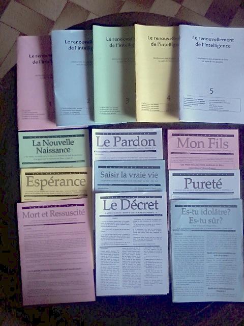 Études bibliques en pdf