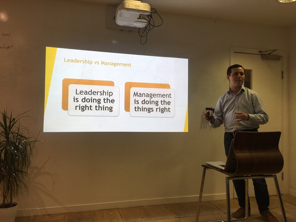 Being a Lead Developer on the Road – Presentation