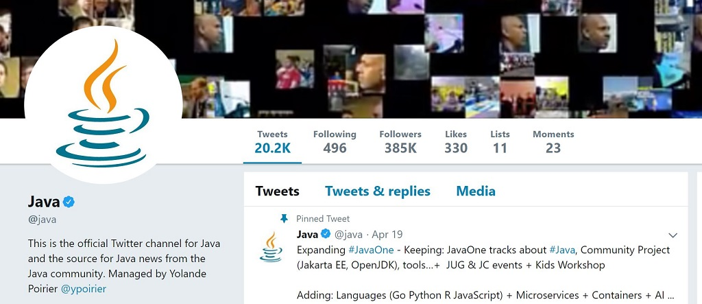 How to stay up to date with Java and Tech? Use Twitter!