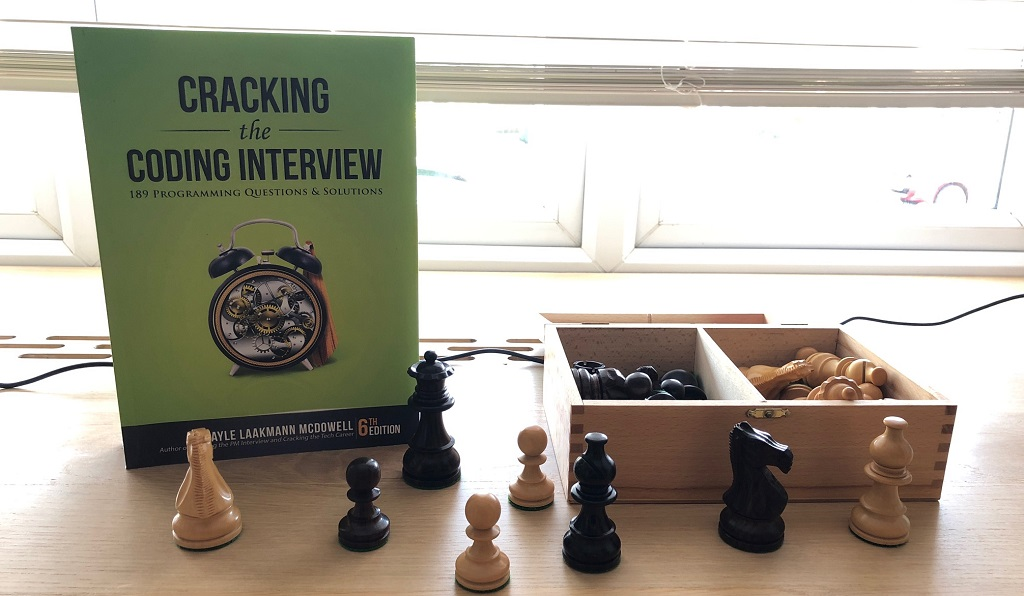 """""""Cracking the Coding Interview"""" - learn that and much more!"""