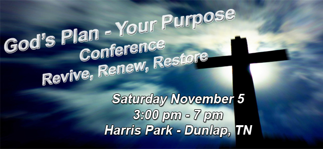 God's Plan Conference - Letter to Pastors and Leaders