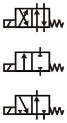 way: 2 way valve symbol