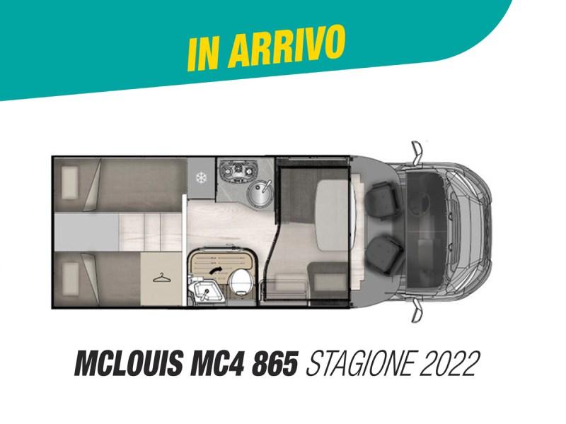 McLouis Mc4 865 stagione 2022