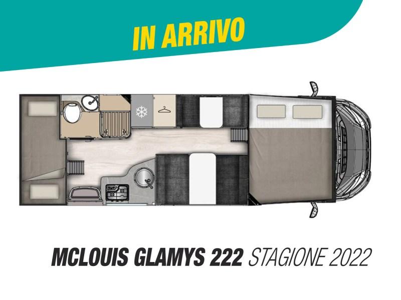McLouis Glamys 222 mansardato stagione 2022